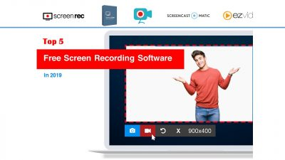 top5 free screen recorders 2019 compared
