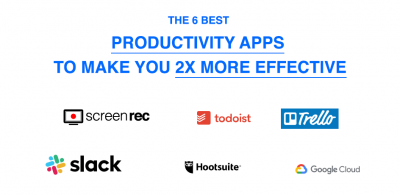 The 6 Best Productivity Apps To Make You 2x More Effective