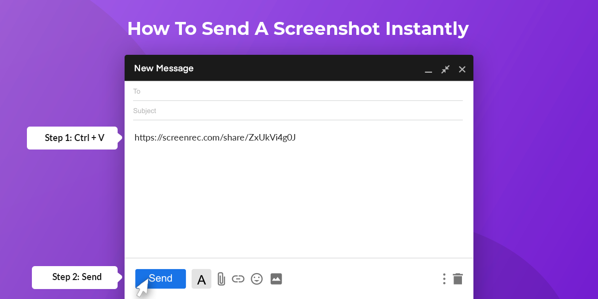How To Send A Screenshot Instantly On Win Mac Linux