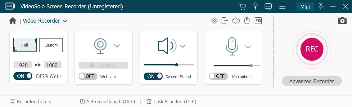 Free HD Screen Recorder